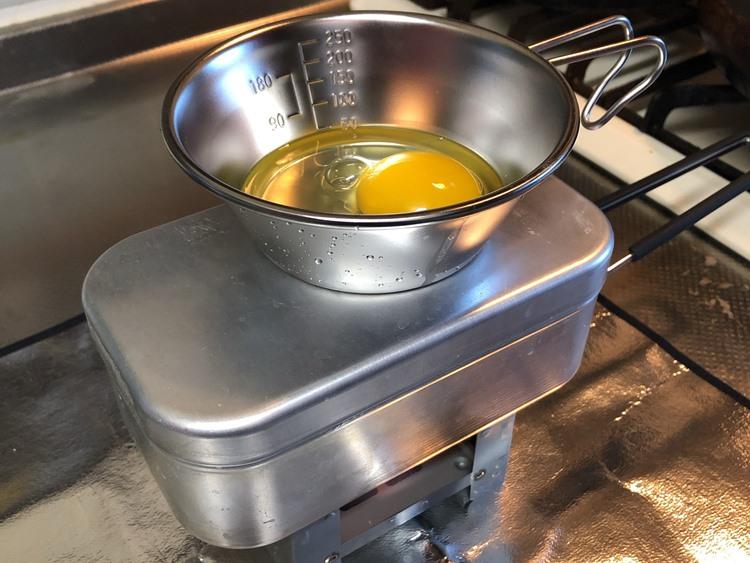 自動炊飯開始