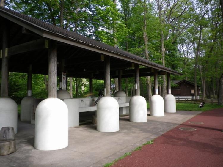 東大沼キャンプ場の設備