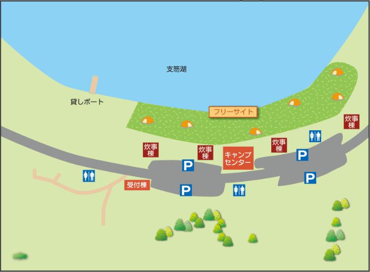 休暇村地図